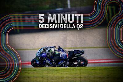 Lo scatto finale del MotoGP™ in Q2