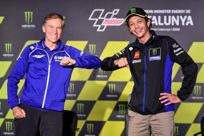 Valentino Rossi and Yamaha special Press Conference