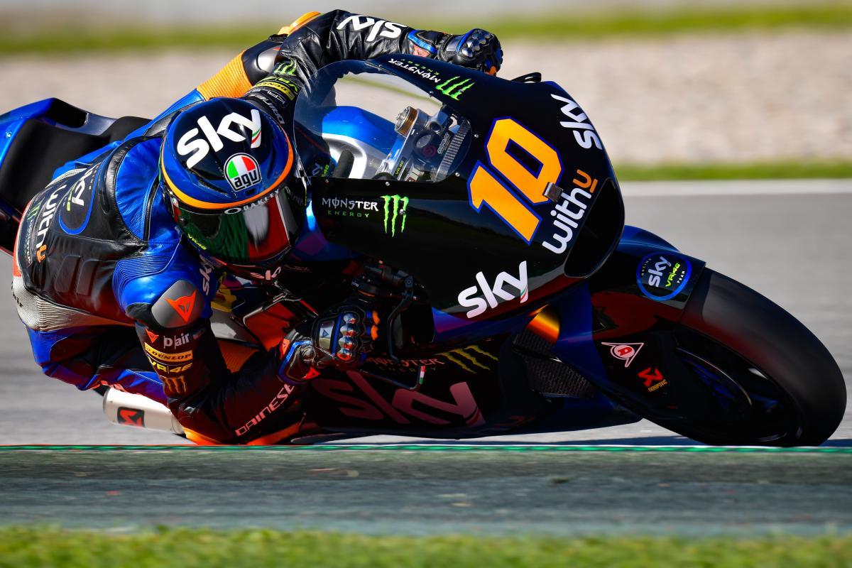 Marini, sin concesiones a sus rivales antes de la carrera | MotoGP™