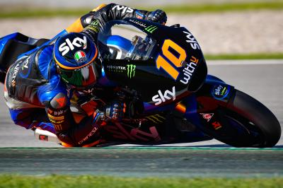 Marini fastest in dramatic Moto2™ Warm Up