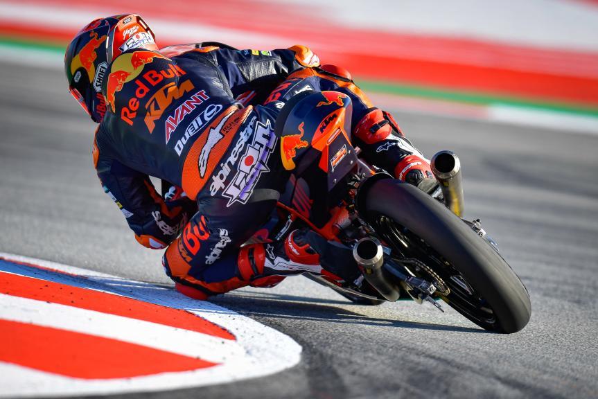 Kaito Toba, Red Bull KTM Ajo, Gran Premi Monster Energy de Catalunya