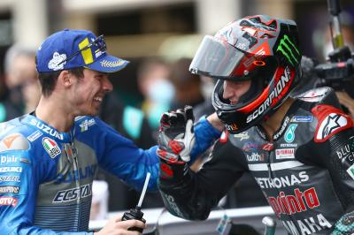 Quartararo vs Mir: game on heading to Le Mans