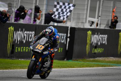 Montmelo magic sees Marini fend off Lowes for vital victory