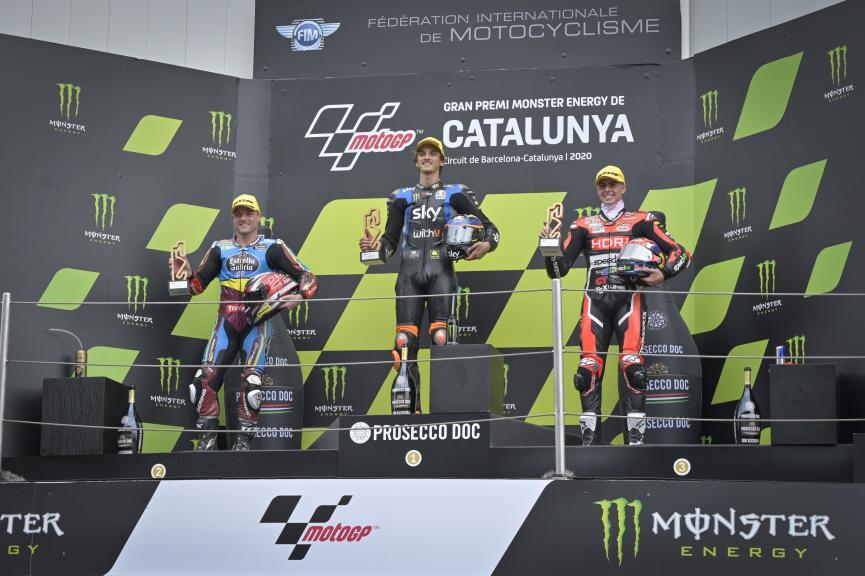 Luca Marini, Sam Lowes, Fabio Di Giannantonio, Gran Premi Monster Energy de Catalunya