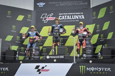 """I was pushed so hard for that"" - Moto2™ rostrum round-up"