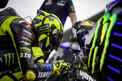 Heartbroken Rossi sees victory chance vanish with late crash