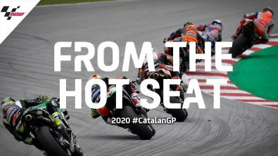 The Start From The Hot Seat | 2020 #CatalanGP