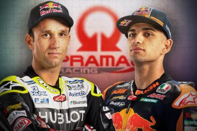 Pramac Racing apuesta por Zarco y Martín para 2021