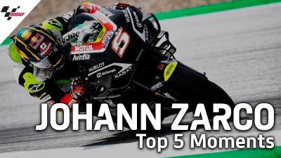 Zarco : Ses 5 meilleurs moments en MotoGP™