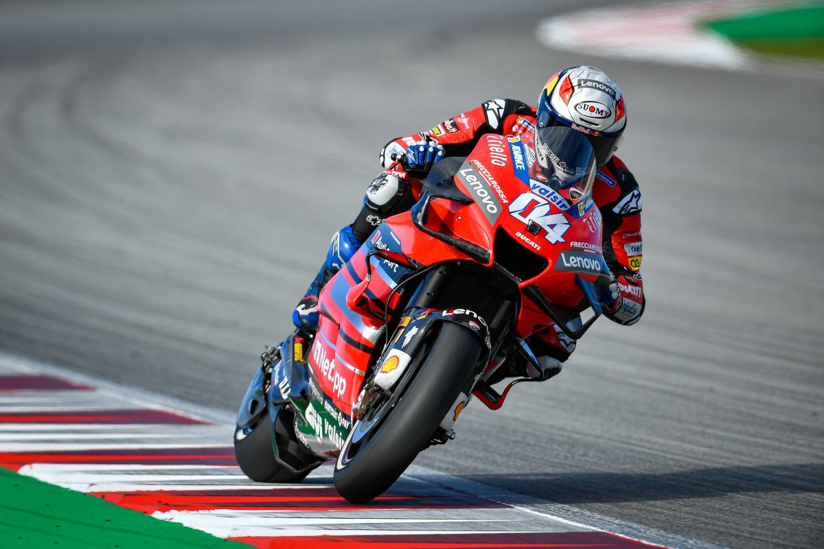 Andrea Dovizioso on what it takes to make it to the top