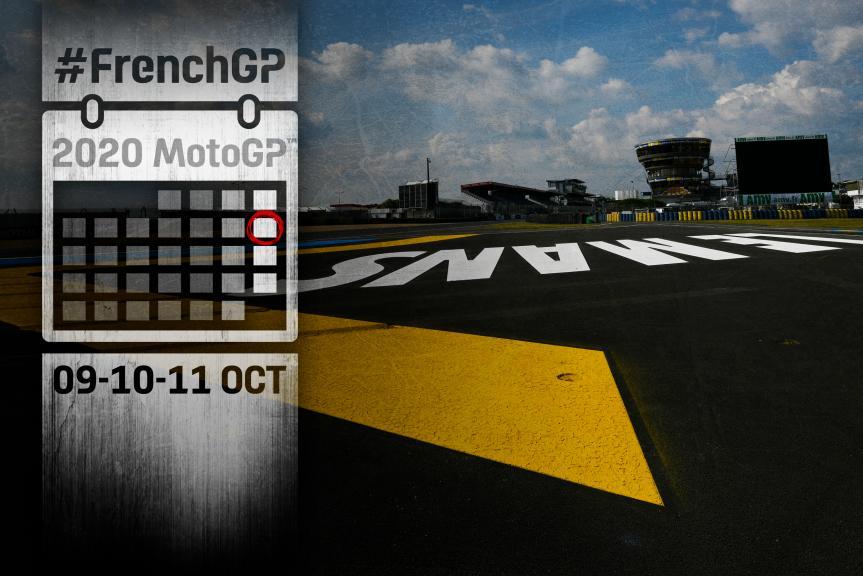 Calendar FrenchGP 2020