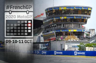 SHARK Helmets Grand Prix de France: tutti gli orari