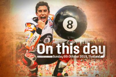On This Day: Marc Marquez clinches his eighth world title