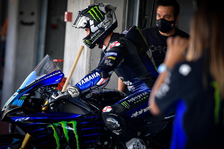 Maverick Vinales, Monster Energy Yamaha MotoGP,Portimao MotoGP™ Official Test