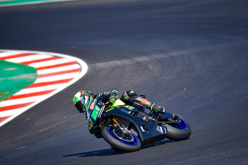 Franco Morbidelli, Petronas Yamaha SRT,Portimao MotoGP™ Official Test