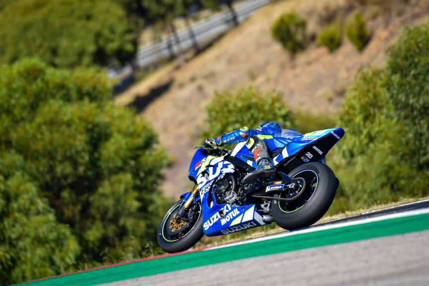 Joan Mir, Team Suzuki Ecstar,Portimao MotoGP™ Official Test