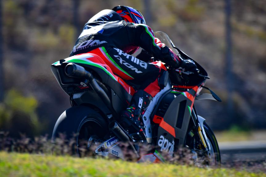 Bradley Smith, Aprilia Factory Racing,Portimao MotoGP™ Official Test