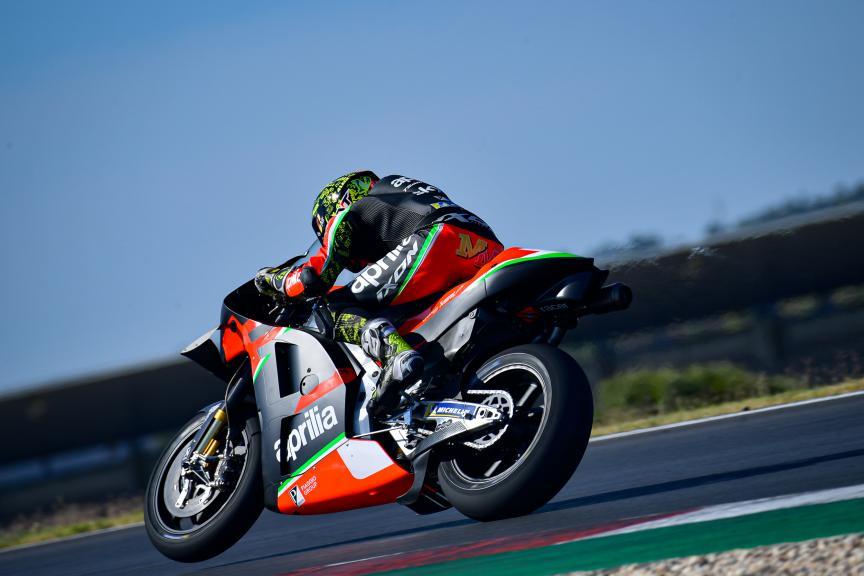 Aleix Espargaro, Aprilia Racing Team Gresini,Portimao MotoGP™ Official Test