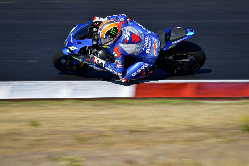 Alex Rins, Team Suzuki Ecstar,Portimao MotoGP™ Official Test