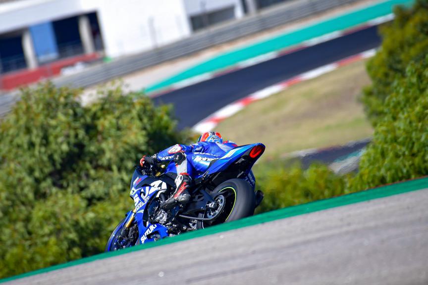 Alex Rins, Team Suzuki Ecstar,Portimao MotoGP™ Official Test
