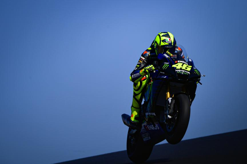 Valentino Rossi, Monster Energy Yamaha MotoGP,Portimao MotoGP™ Official Test
