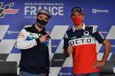 Alex de Angelis, Matteo Ferrari, SHARK Helmets Grand Prix de France