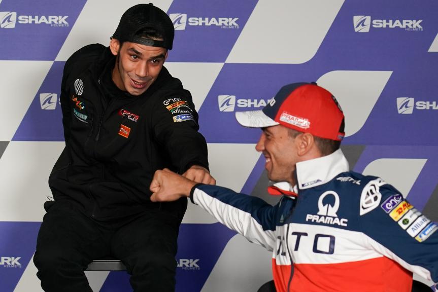 Alex de Angelis, Jordi Torres, SHARK Helmets Grand Prix de France