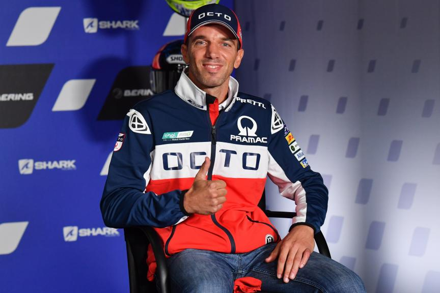 Alex de Angelis, Octo Pramac Racing,SHARK Helmets Grand Prix de France