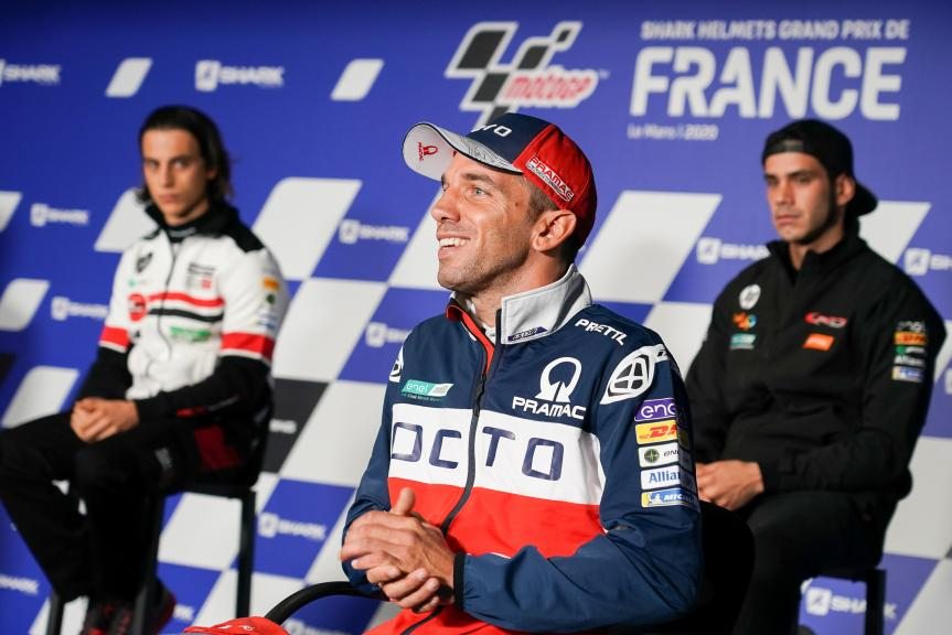 Alex de Angelis, Octo Pramac Racing,SHARK Helmets Grand Prix de France