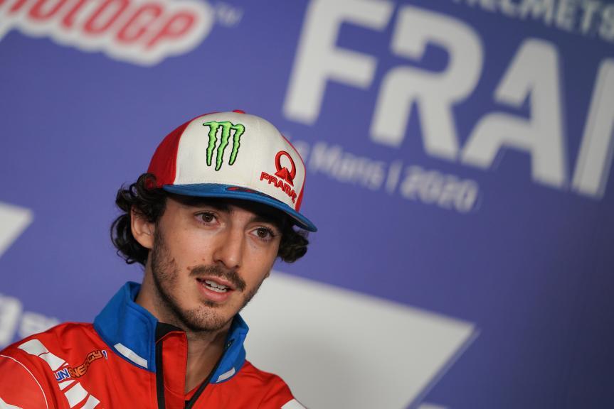Francesco Bagnaia, Pramac Racing,SHARK Helmets Grand Prix de France