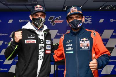 Ducati: Primer discurso de los pilotos anunciados para 2021