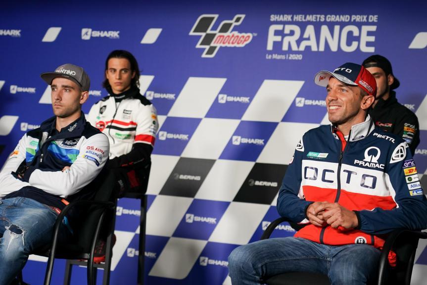 MotoE, Press-Conference,SHARK Helmets Grand Prix de France