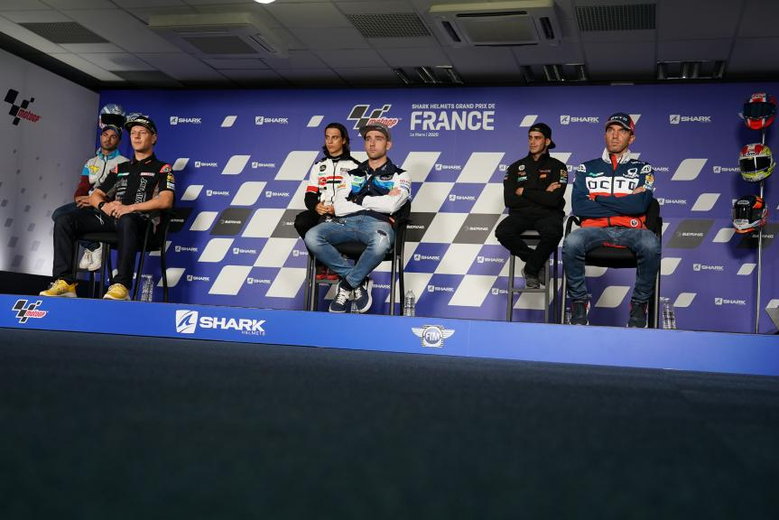 MotoE, Press-Conference,SHARK Helmets Grand Prix de France