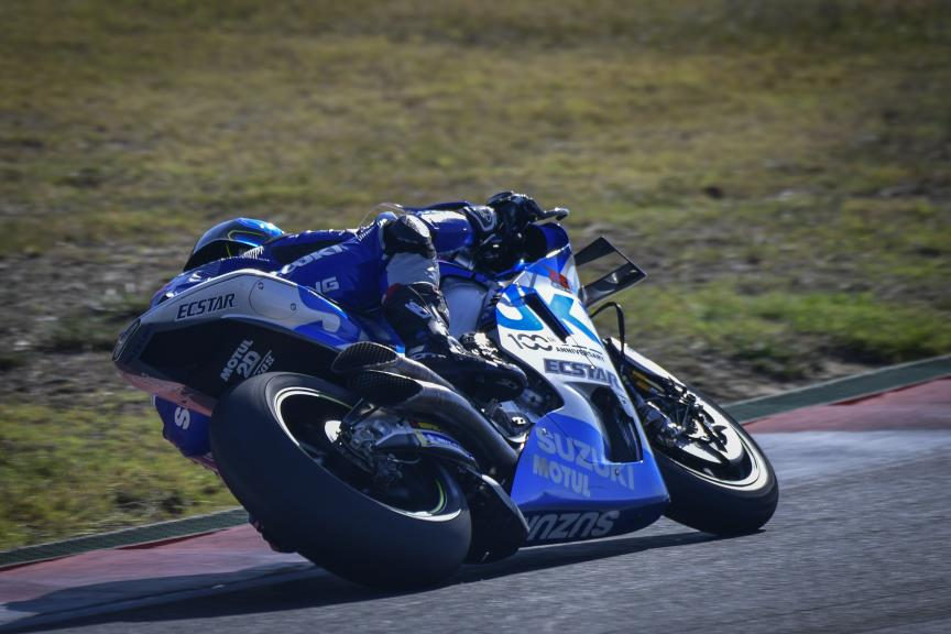 Sylvain Guintoli, Team Suzuki Ecstar,Portimao MotoGP™ Official Test