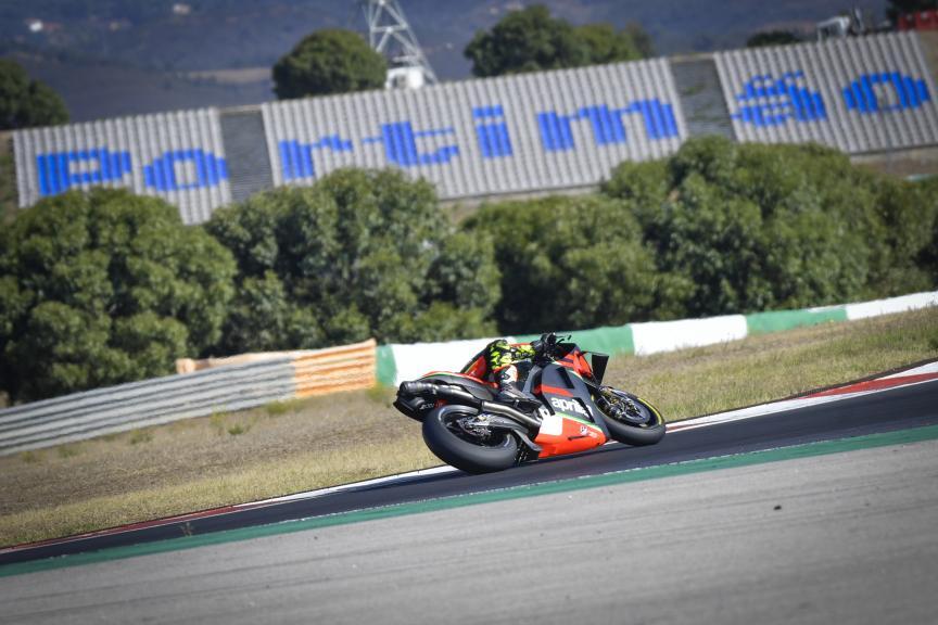 Lorenzo Savadori, Aprilia Factory Racing,Portimao MotoGP™ Official Test