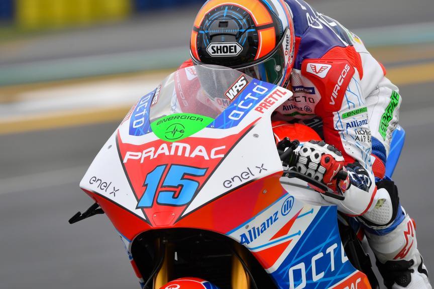 Alex de Angelis, Octo Pramac Racing, SHARK Helmets Grand Prix de France