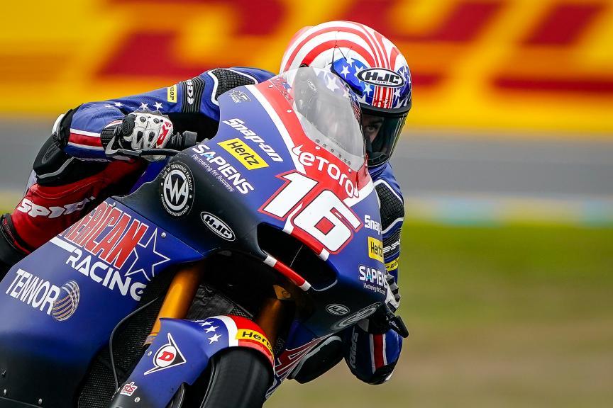 Joe Roberts, American Racing, SHARK Helmets Grand Prix de France