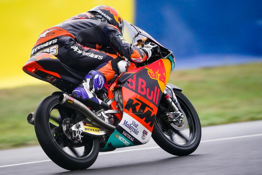 Raul Fernandez, Red Bull KTM Ajo, SHARK Helmets Grand Prix de France
