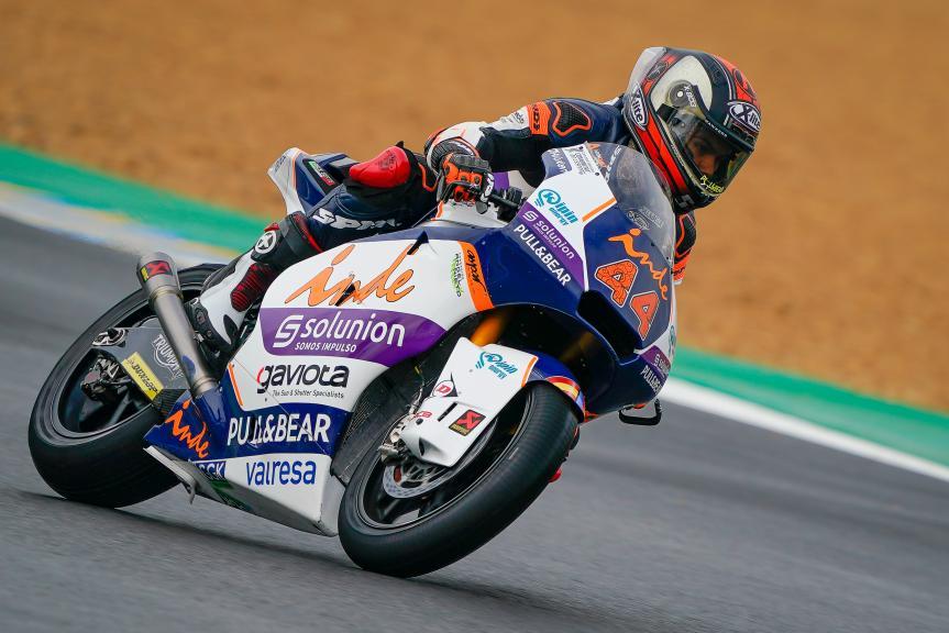 Aron Canet, Inde Aspar Team Moto2, SHARK Helmets Grand Prix de France
