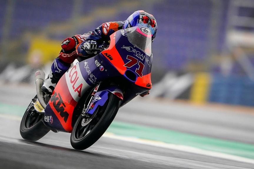 Ayumu Sasaki, Red Bull KTM Tech 3, SHARK Helmets Grand Prix de France