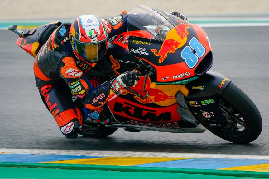 Jorge Martin, Red Bull KTM AJO, SHARK Helmets Grand Prix de France