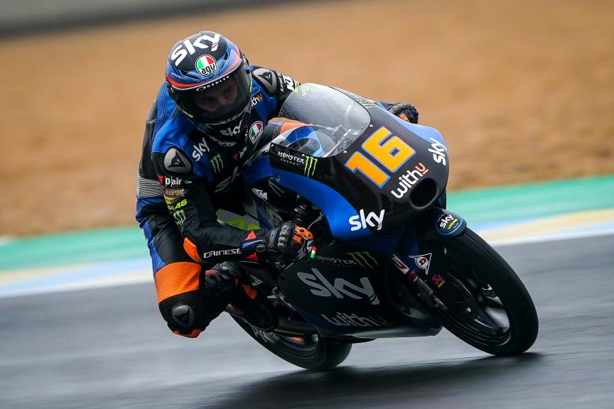 Andrea Migno, SKY Racing Team Vr46, SHARK Helmets Grand Prix de France