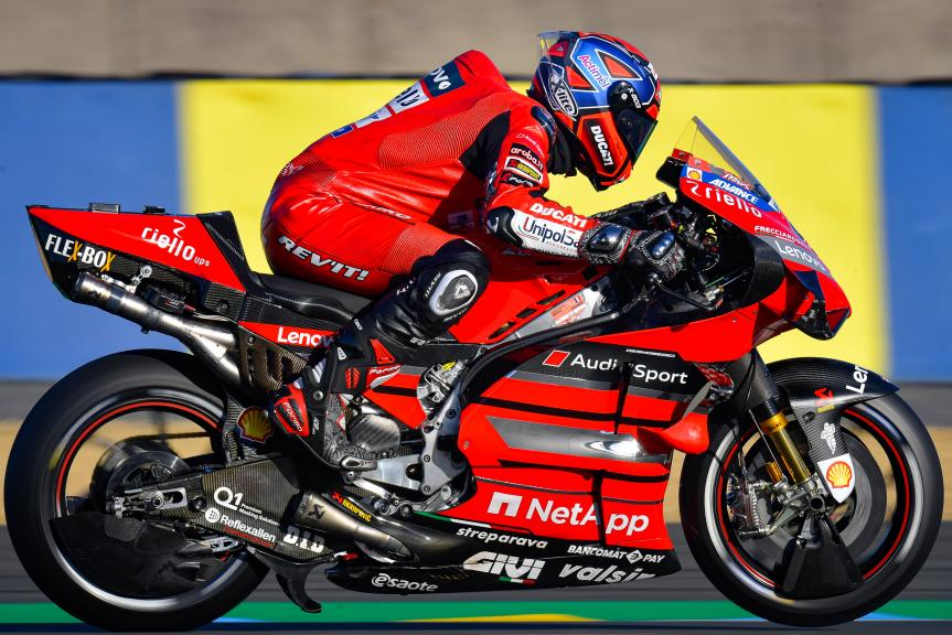 Danilo Petrucci, Ducati Team, SHARK Helmets Grand Prix de France