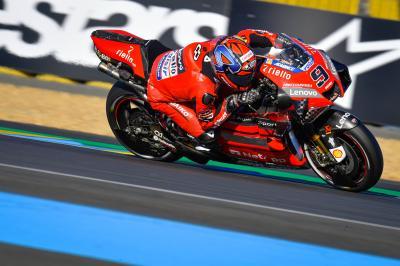 La doppietta Ducati lascia Mir in Q1