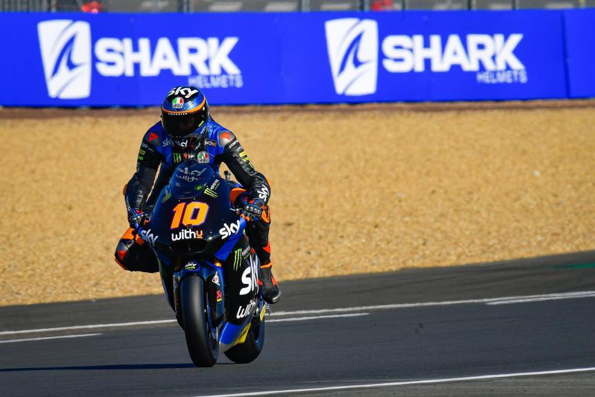 Luca Marini, SKY Racing Team Vr46, SHARK Helmets Grand Prix de France