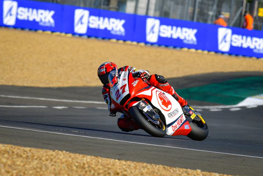 Andi Farid Izdihar, Idemitsu Honda Team Asia, SHARK Helmets Grand Prix de France