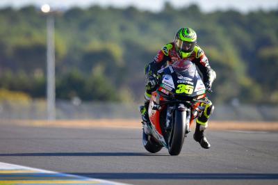 Crutchlow alla riscossa: è quarto nella Q2 a Le Mans