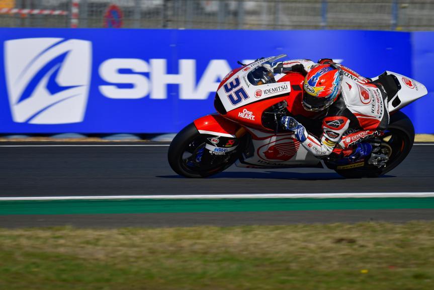 Somkiat Chantra, Idemitsu Honda Team Asia, SHARK Helmets Grand Prix de France