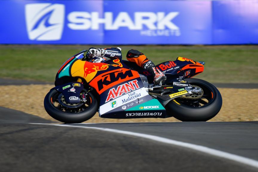Tetsuta Nagashima, Red Bull KTM AJO, SHARK Helmets Grand Prix de France