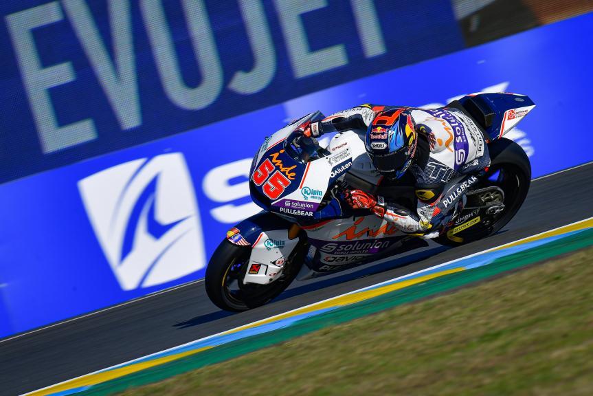 Hafizh Syahrin, Inde Aspar Team Moto2, SHARK Helmets Grand Prix de France